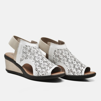 Sandália Veneza Natural e Prata Velho - VN033/001 - Balatore Shoes