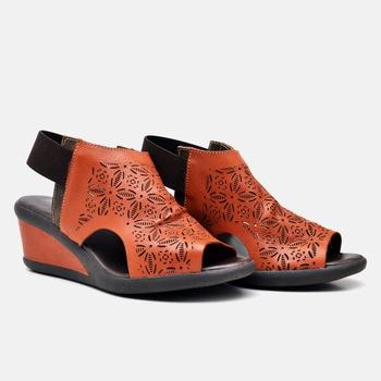 Sandália Veneza Laranja - VN033/003 - Balatore Shoes