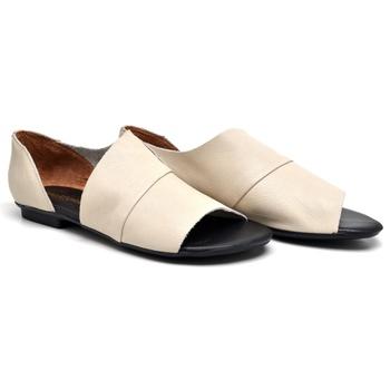 Flat Rasteira Maresias Off White - MA000/032 - Balatore Shoes