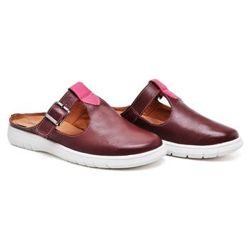 Mule Nômade Vermelho e Pink - NO003/011 - Balatore Shoes