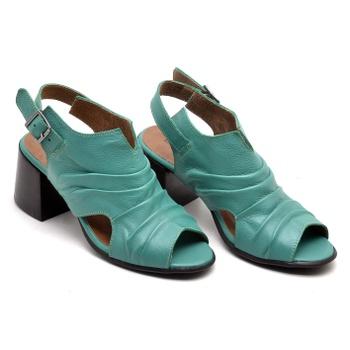 Sandália Paris Verde - PR009/002 - Balatore Shoes