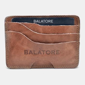 Porta Cartão Amêndoa - PC001/007 - Balatore Shoes