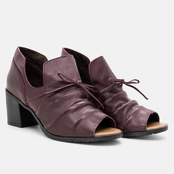 Open Boot London Bordô - LD049/008 - Balatore Shoes