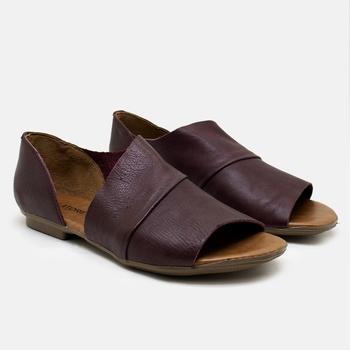 Flat Rasteira Maresias Bordô - MA000/026 - Balatore Shoes