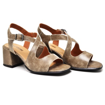 Sandália Turim Areia - TR003/001 - Balatore Shoes