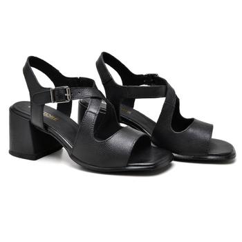 Sandália Turim Preto - TR003/004 - Balatore Shoes