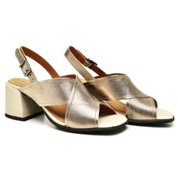 Sandália Turim Prata Velho - TR004/003 - Balatore Shoes