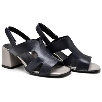 Sandália Turim Marinho e Grafite - TR006/003 - Balatore Shoes