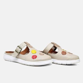 Mule Nômade Off White - NO002/002 - Balatore Shoes