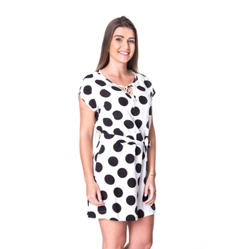 Vestido Poá Pimenta Rosada Ludmilla - PI1004 - PIMENTAROSADA