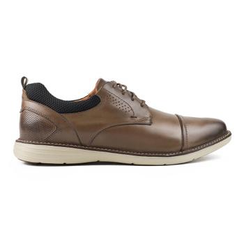 Sapato Pipper em Couro Napa Soft Castor - Pipper Store Confortavelmente Seu
