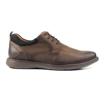 Sapato Pipper em Couro New London Capuccino - Pipper Store Confortavelmente Seu