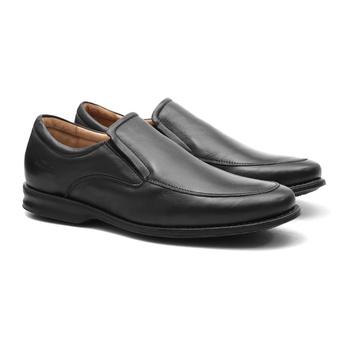 Soft Comfort ORAN MAX Preto - Sapato Masculino Loafer Samello - SAMELLO