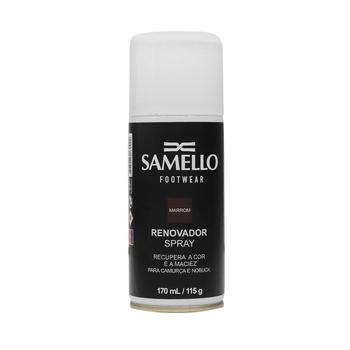 AO - Renovador Spray Marrom - Ativa As Cores Dos Calçados E Acessórios De Couro Samello - SAMELLO