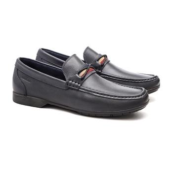Mocassim s/b COMPASS Marinho - Sapato Masculino Loafer Samello - SAMELLO