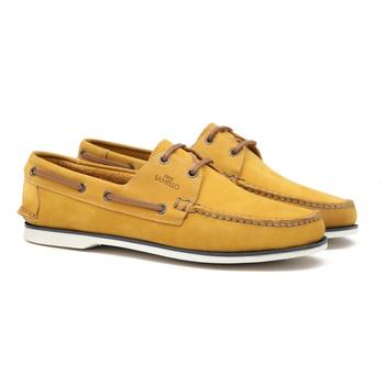Deckshoes MAKAPU Orange - Docksides Masculino Samello - SAMELLO