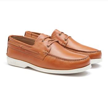Soft Deckshoes SANTORIM II Orange - Docksides Masculino Samello - SAMELLO