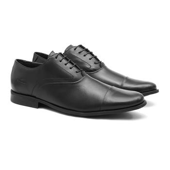 Social s/b REXTON Preto - Sapato Masculino Oxford Samello - SAMELLO