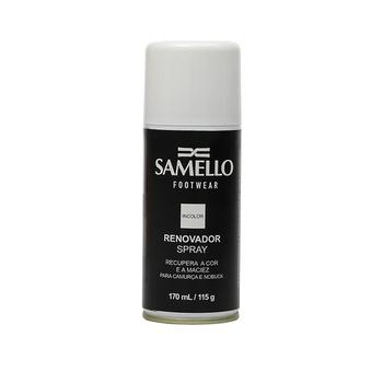 AC - Renovador Spray Incolor - Ativa As Cores Dos Calçados E Acessórios De Couro Samello - SAMELLO