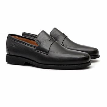 Soft Comfort STORS II MAX Preto - Sapato Masculino Loafer Samello - SAMELLO