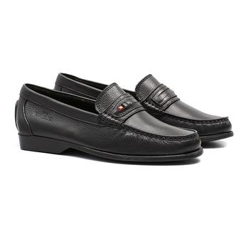 Mocassim s/b SHELTON Preto - Sapato Masculino Loafer Samello - SAMELLO
