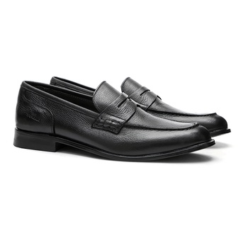 Mocassim s/c KENNER Preto - Sapato Masculino Loafer Samello - SAMELLO