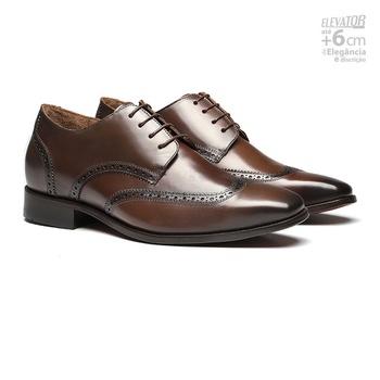 Elevator Social s/c ROVER Moss - Sapato Masculino Derby Samello - SAMELLO