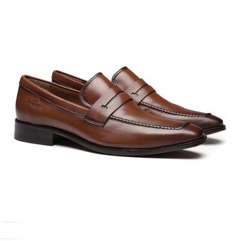 Social s/c SENTRA Capuccino - Sapato Masculino Loafer Samello - SAMELLO