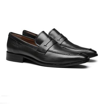 Social s/c SENTRA Preto - Sapato Masculino Loafer Samello - SAMELLO