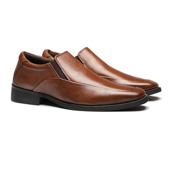 Comfort Gel S/B ELANTRA Tan - Sapato Masculino Loafer Samello - SAMELLO