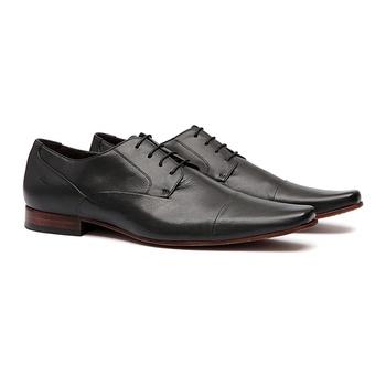 Social s/c MILLE Preto - Sapato Masculino Oxford Samello - SAMELLO