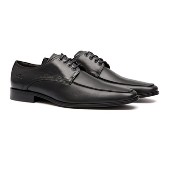 Social s/c HELMOND Preto - Sapato Masculino Oxford Samello - SAMELLO