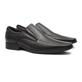Social s/b MALLOW Preto - Sapato Masculino Loafer Samello - SAMELLO