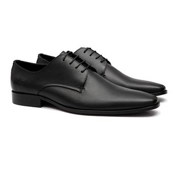 Social s/c CERRO Preto - Sapato Masculino Oxford Samello - SAMELLO
