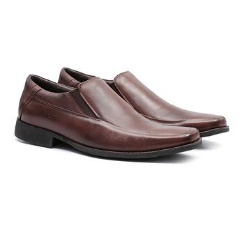 Comfort Gel S/B COLUMBRES Café - Sapato Masculino Loafer Samello - SAMELLO