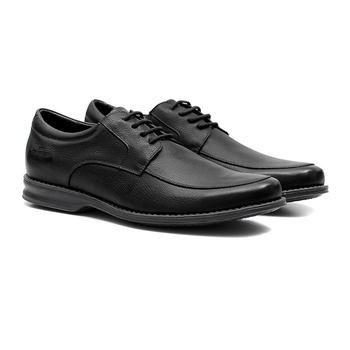 Comfort Gel s/b ELK Preto - Sapato Masculino Oxford Samello - SAMELLO