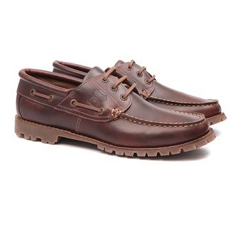 Samello BullDog NEW BARÃO Havana- Sapato masculino tradicional - SAMELLO