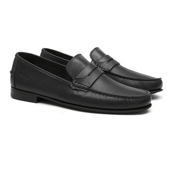 Mocassim s/c BOSSIER Preto - Sapato Masculino Loafer Samello - SAMELLO