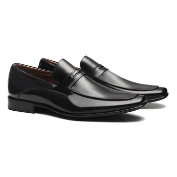 Sapato Loafer Masculino Em Couro Preto - 0248 3580... - SERGIO`S