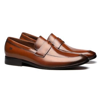 Sapato Masculino Penny Loafer Social Em Couro Whis... - SERGIO`S