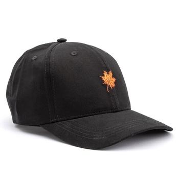 Boné Folha Canadian Preto / Laranja - Store Country