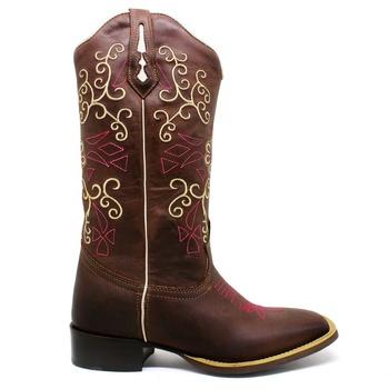Bota Texana Feminina Marconi 7907 Crazy Horse Café - Store Country