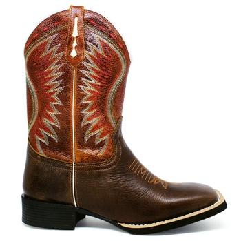 Bota Texana Masculina Marconi 7333 Bufalino Café - Store Country