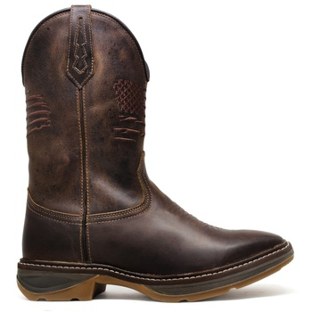 WorkBoot Wedge High Country 4787 Fóssil Brown - Store Country