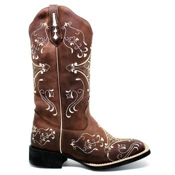 Bota Texana Feminina Marconi 7903 Mad Dog Café - Store Country