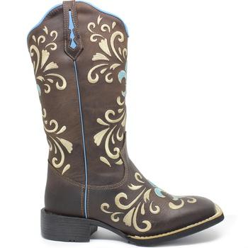 Bota Texana Feminina Marconi 7899 Crazy Horse Café - Store Country
