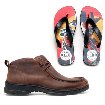 Tênis Destroyer High Country + Chinelo Red Dead High Country - Store Country
