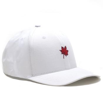 Boné Folha Canadian Branco/Vermelho - Store Country