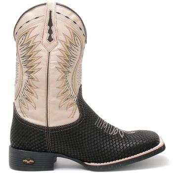 Bota Texana Masculina High Country 7728 Snake Preto - Store Country