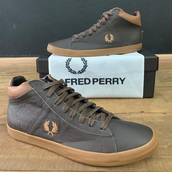 BOTA FRED PERRY MARROM - BOTFRED-02 - TCHUCO STORE - GRANDES MARCAS